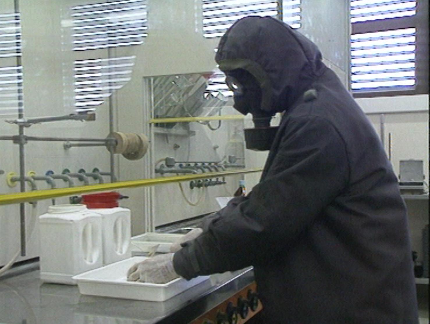 La menace des armes chimiques