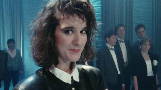 La chanteuse Céline Dion en 1988. [RTS]