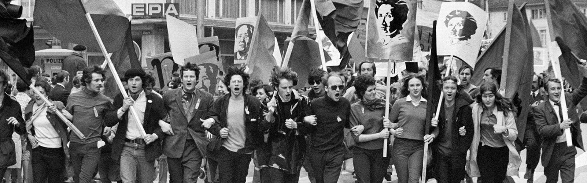 Le dossier Mai 68 en Suisse de RTS Découverte [STR - © Keystone]