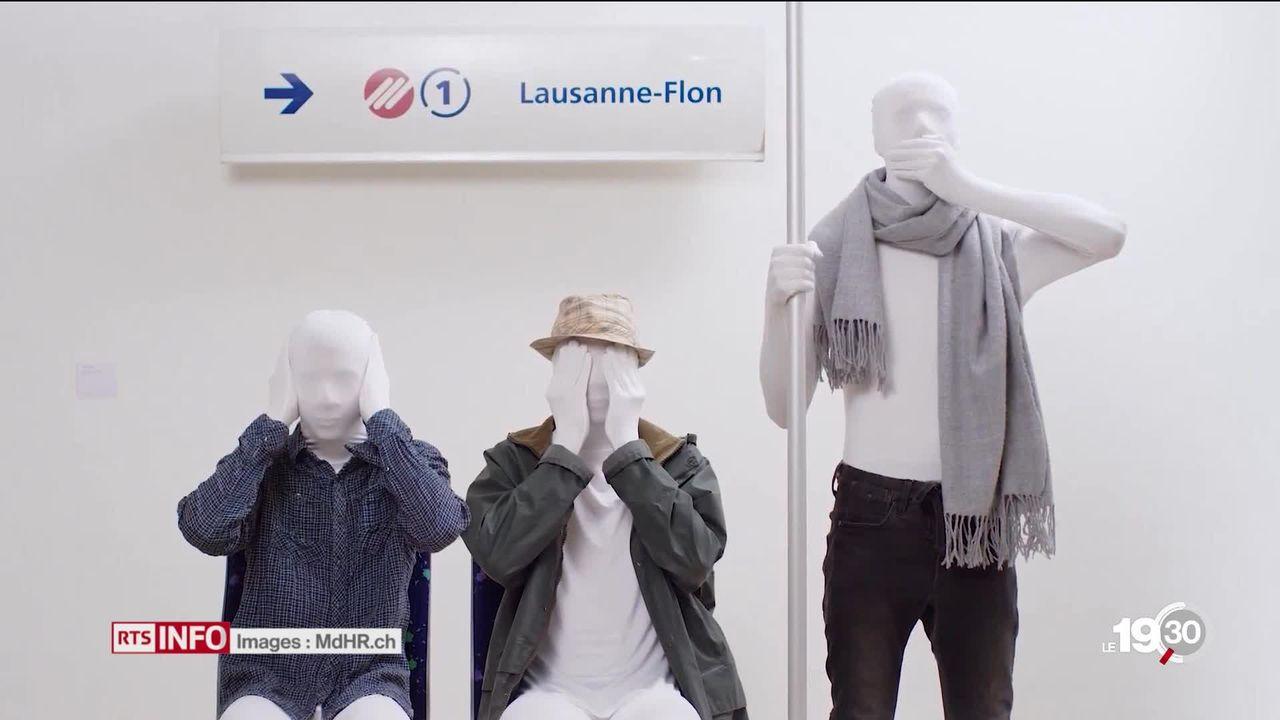 La lutte contre le harcèlement de rue s'intensifie à Lausanne [RTS]