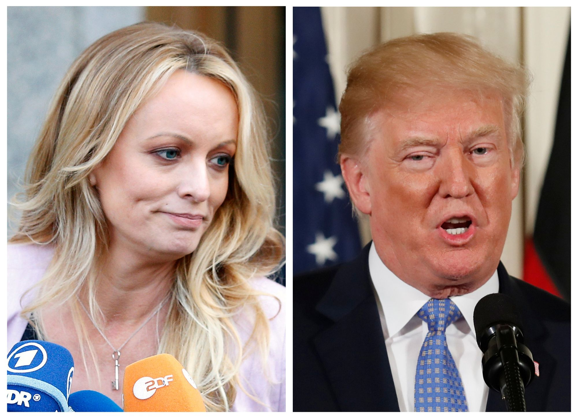 Donald Trump: Stormy Daniels jette de l'huile sur le feu