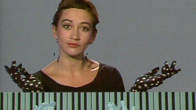 Caroline Loeb en 1987. [RTS]