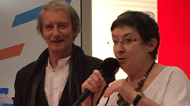Patrick Ferla et Marie Perny. [Martine Béguin - RTS]