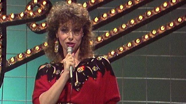 Rose Lorens en 1983. [RTS]
