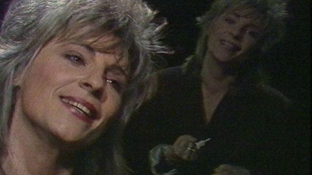 Catherine Lara en 1986. [RTS]