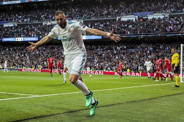 Benzema a trouvé à deux reprises le chemin des filets. [Emilio Naranjo - Keystone]