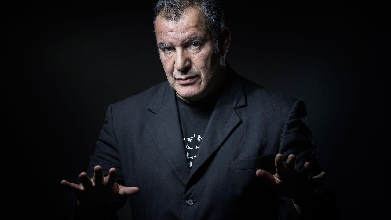 Le chanteur et auteur Magyd Cherfi. [Joel Saget - AFP]