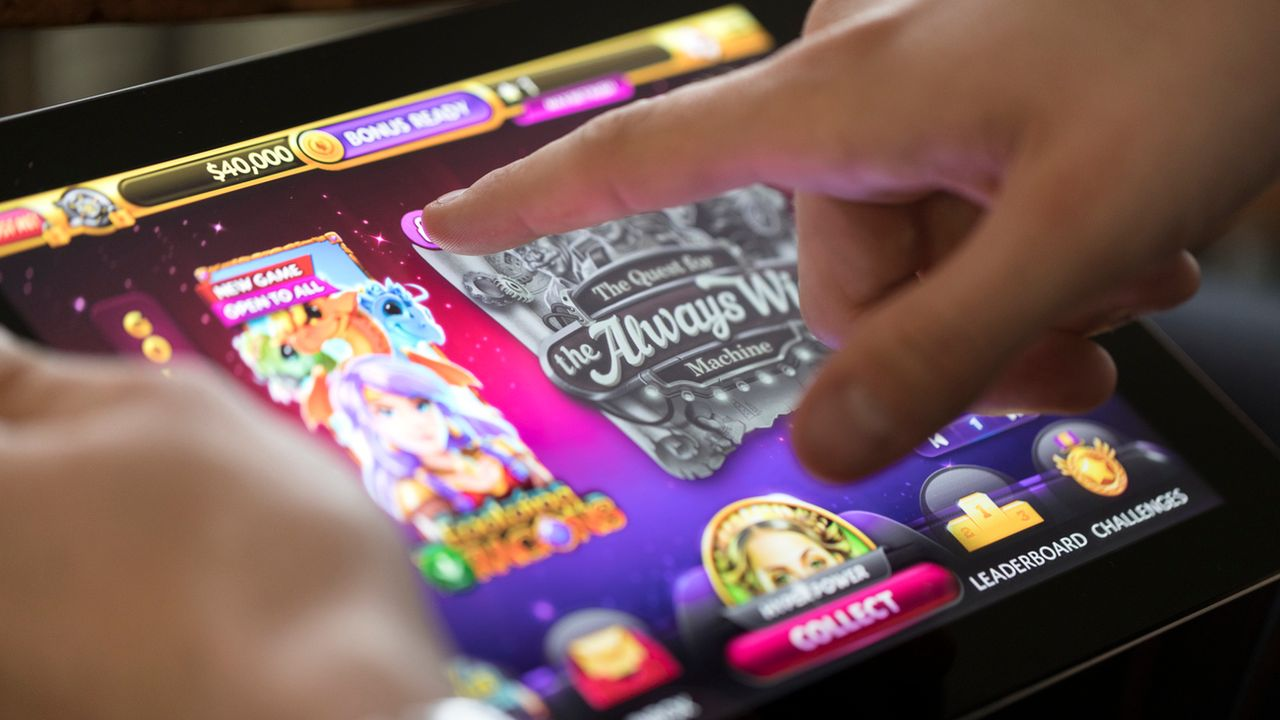 La nouvelle loi sur les jeux d'argent bloquera l'accès aux casinos en ligne étrangers.  [Gaetan Bally - Keystone]