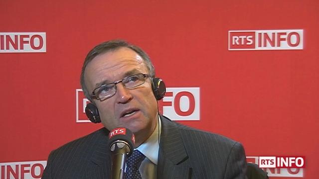 Etienne Blanc, député-maire de Divonne (Les Républicains). [RTS]