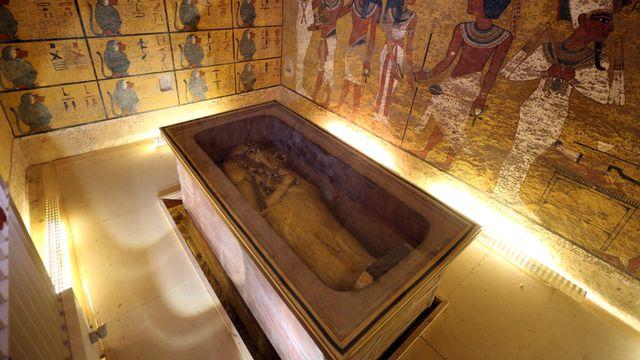 La tombe du roi Toutankhamon, dans la Vallée des Rois, près de Luxor, en Egypte. [Mohamed Abd El Ghany - Reuters]