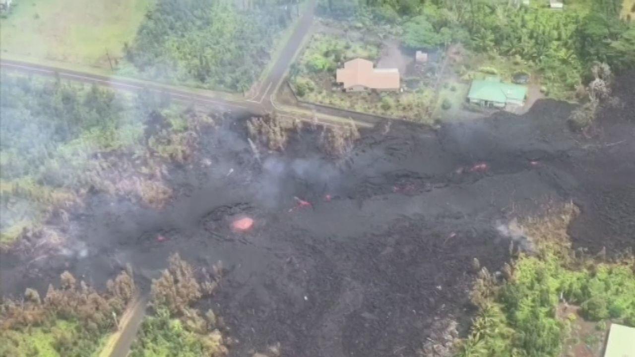 Nouvelles fissures sur un volcan hawaïen [RTS]
