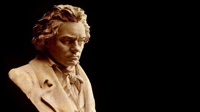 Buste de Ludwig Van Beethoven réalisé par Hugo Hagen (1818-1871) et exposé au Beethoven-Hauss Museum de Bonn. [DP]