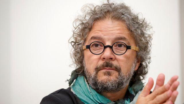 Daniele Finzi Pasca, metteur en scène de la Fête des vignerons 2019 à Vevey. [Salvatore Di Nolfi - Keystone]