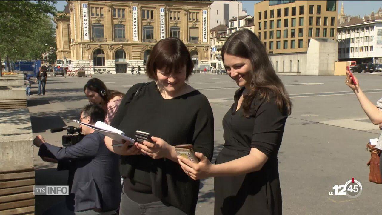 NE: une application et des bornes pour faire découvrir la ville de Neuchâtel aux touristes [RTS]