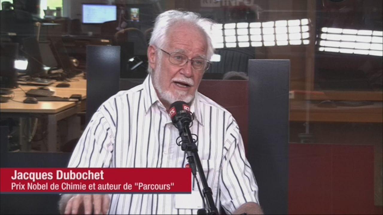 """Jacques Dubochet publie """"Parcours"""" [RTS]"""