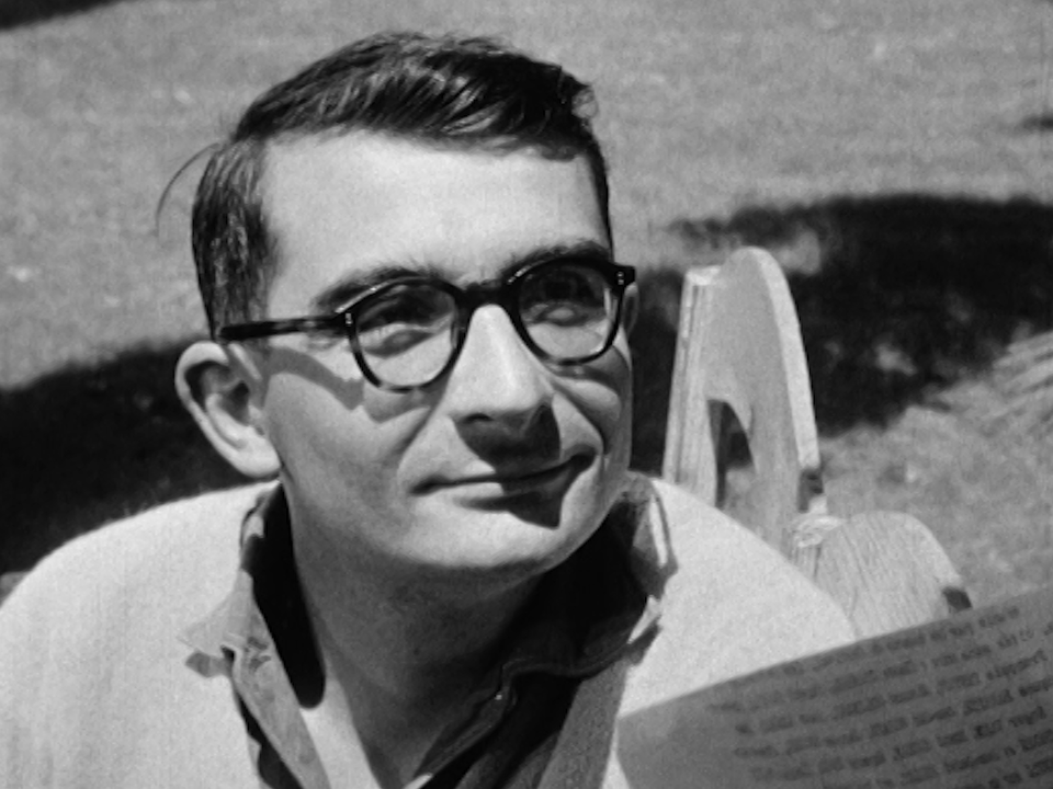 Le cinéaste Claude Chabrol en 1960. [RTS]