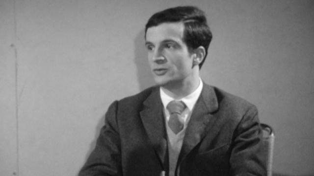 Le cinéaste François Truffaut en 1960. [RTS]