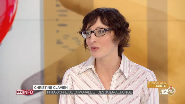 Le Rendez-vous santé: coup de projecteur sur le don d'organes avec Christine Clavien, philosophe de la morale et des sciences (UNIGE) [RTS]
