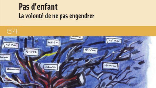 """Couverture du livre """"Pas d'enfant"""", écrit par Anne Gotman. [DR - Fondation maison des sciences de l'homme]"""