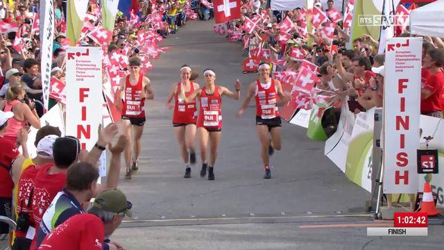 Championnats d'Europe, Mendrisio (SUI), relais mixte: les Suisses d?crochent le titre [RTS]