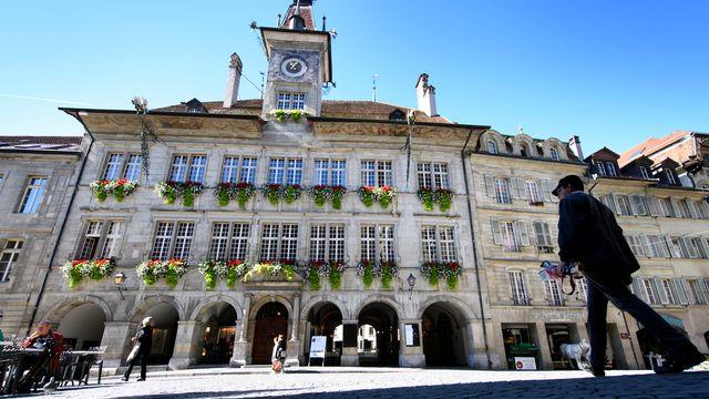 L'Hôtel de Ville, siège des autorités communales lausannoises. [Laurent Gillieron - Keystone]