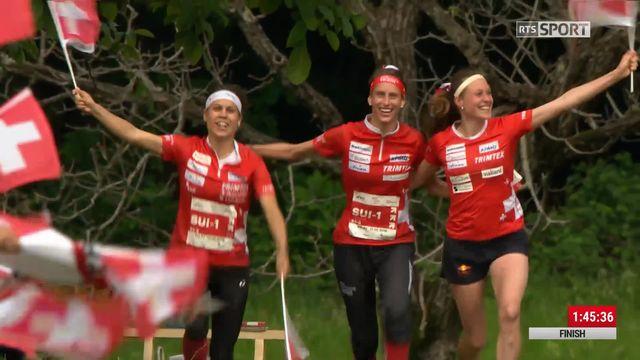 Relais dames, victoire des Suissesses [RTS]