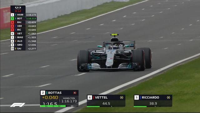 GP d'Espagne (n?5), Q3: 74e pole en carri?re pour Lewis Hamilton (GBP) [RTS]