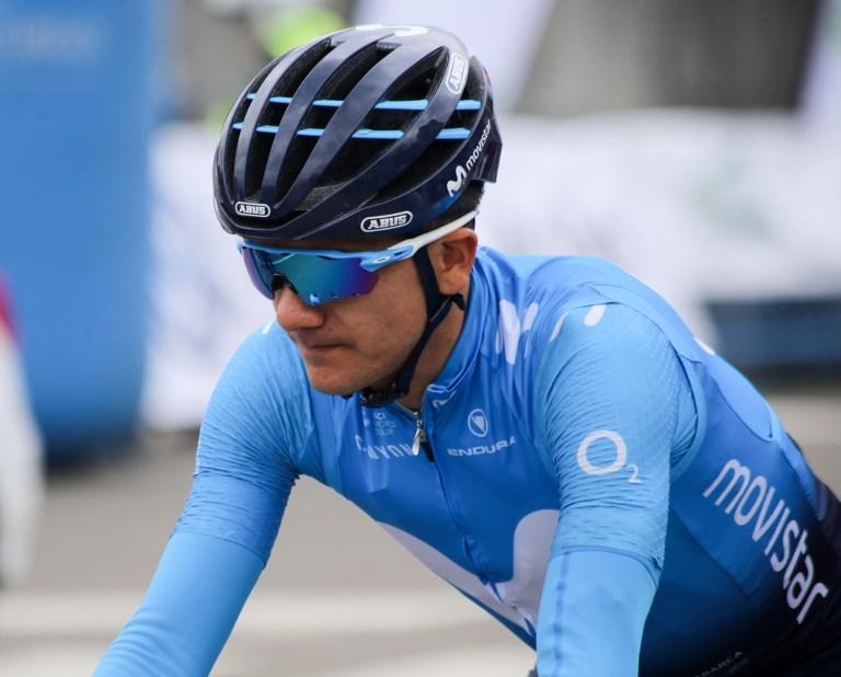 Richard Carapaz remporte la 8e étape du GIRO