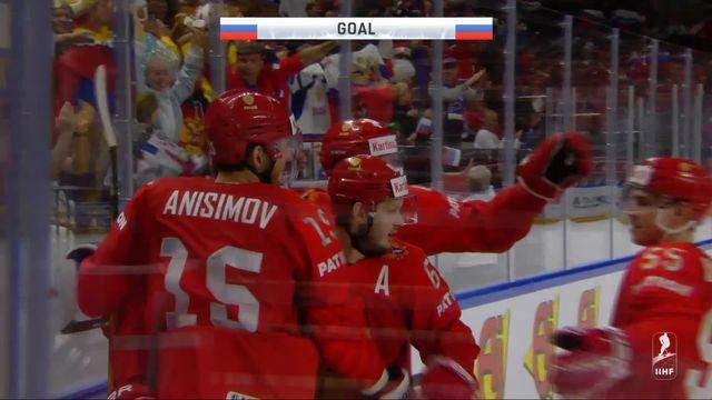 Groupe A, Russie - Suisse (4-3): tous les buts de la rencontre [RTS]