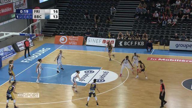 Basketball - LNA (finale): Elfic Fribourg - Troistorrents (63-60) [RTS]