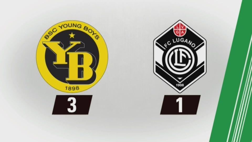 35e journée,Young Boys - Lugano (3-1): tous les buts de la rencontre [RTS]