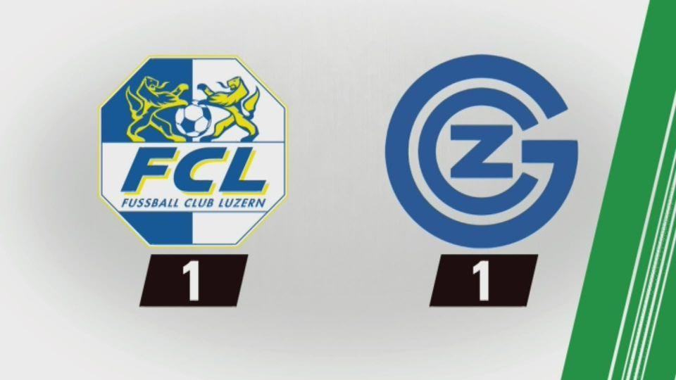 35e journée, Lucerne - GrassHopper (1-1): tous les buts de la rencontre [RTS]