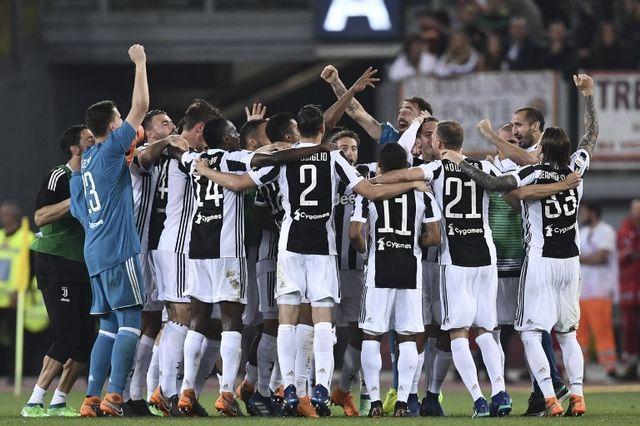 Les Turinois trônent sur la Serie A pour la septième saison de suite. [Filippo MONTEFORTE - AFP]