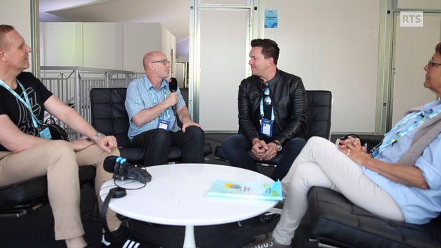Quel avenir pour la Suisse dans le concours Eurovision ? Le débat des commentateurs RTS SRF et RSI. [RTS]