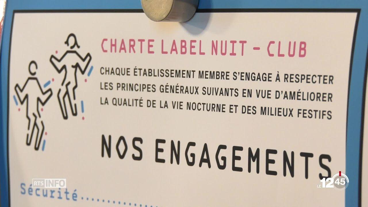 Lausanne lance la charte label nuit afin de prévenir le harcèlement dans les bars [RTS]