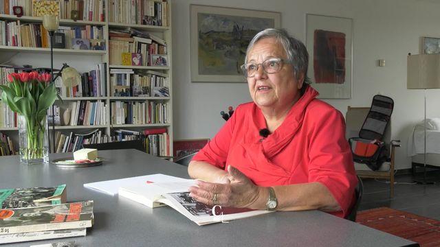 Mai 68: Françoise Steiner menait une double vie tantôt bourgeoise, tantôt révolutionnaire [RTS]