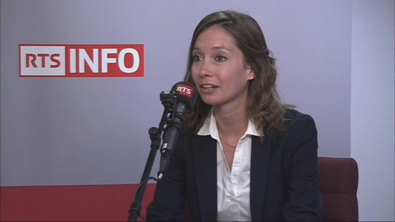 L'invitée de Romain Clivaz (vidéo) - Johanna Gapany, conseillère communale PLR à Bulle [RTS]