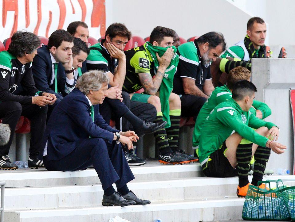 Le Sporting vit depuis quelques semaines une situation de crise sans précédent. [Gregorio Cunha - Keystone]