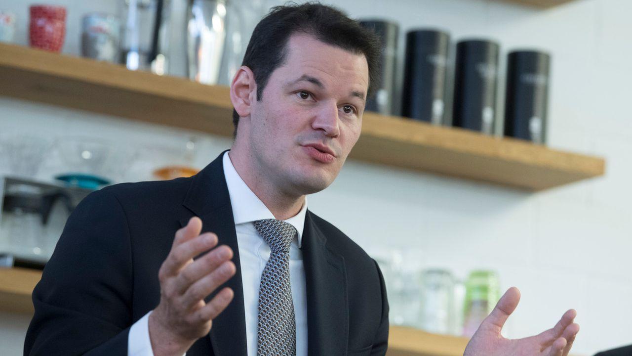 Le conseiller d'Etat Pierre Maudet, photographié le 6 novembre 2017. [Marcel Bieri) - Keystone]