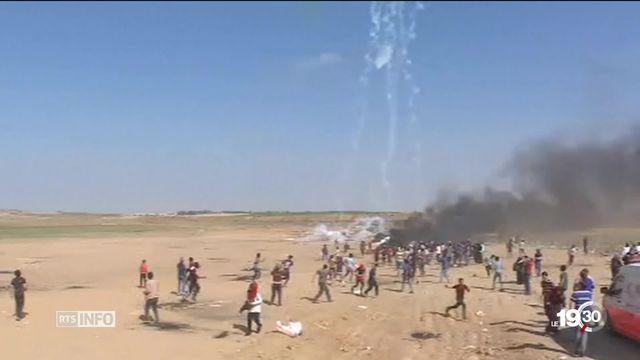 Gaza: de nombreux Etats critiquent les violences israéliennes [RTS]