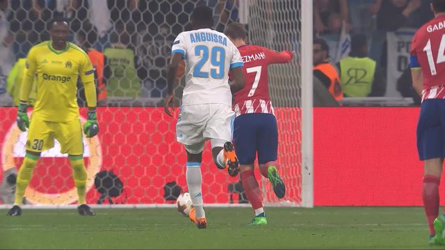 Finale, Marseille - Atlético Madrid 0-1 [RTS]