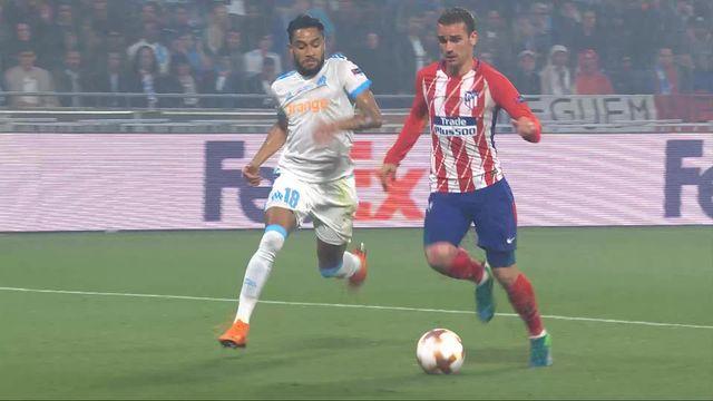 Finale, Marseille - Atlético Madrid 0-2: 49e Griezmann [RTS]