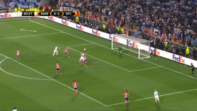 Finale, Marseille - Atlético Madrid 0-2: 81e Poteau de Mitroglou [RTS]