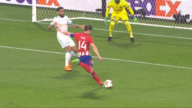 Finale, Marseille - Atlético Madrid 0-3: 89e Gabi [RTS]