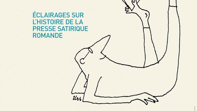 """Affiche de l'exposition """"Mieux vaut en rire!"""" à la BCU de Lausanne. [DR - bcu-lausanne.ch]"""