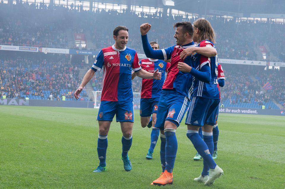 Le FC Bâle devra passer 3 tours pour atteindre la phase de poules de la C1. [Melanie Duchene - Keystone]