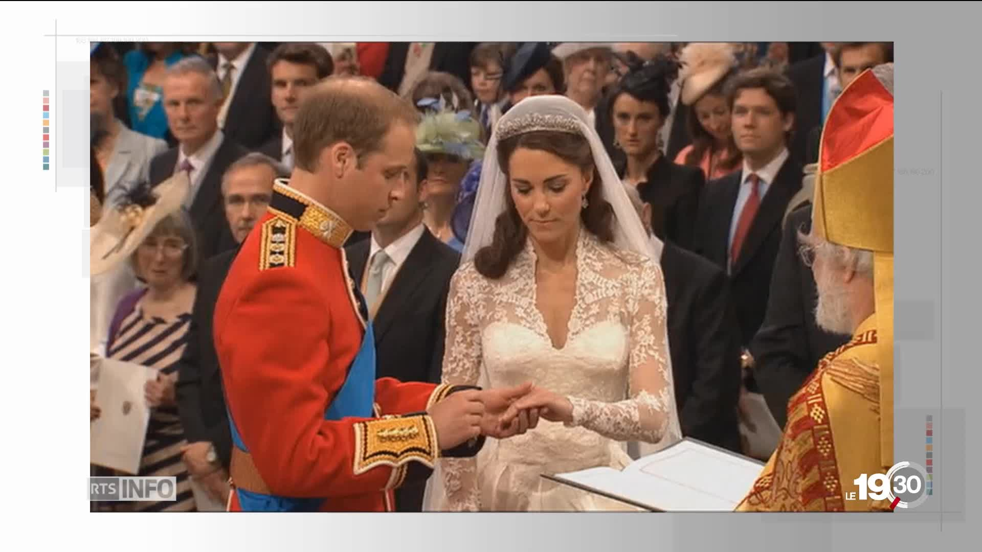 Elizabeth, Charles, William Harry, 4 mariages, 4 robes, 4 histoires