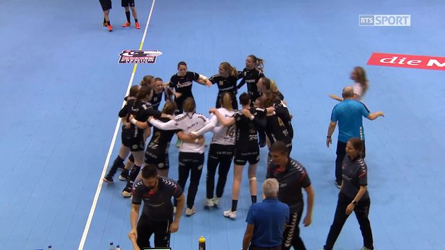 Play-off dames, 1er match, Spono Eagles - LC Brühl (29-31) [RTS]