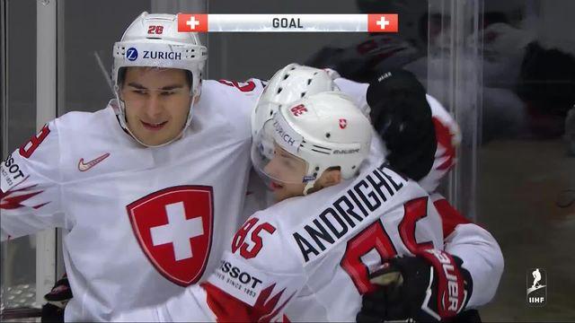 1-4 de finale, Finlande - Suisse 2-3: les buts de la victoire de l'équipe de Suisse ! [RTS]