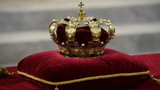 La royale couronne, joyau des Pays-Bas. [Lex Van Lieshout - Keystone]